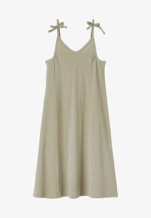 Vestido informal - silver sage