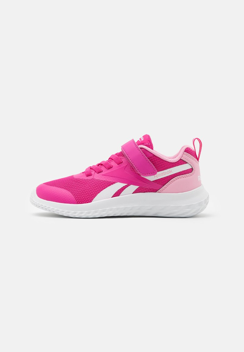 Reebok - RUSH RUNNER 3.0 UNISEX - Neutral running shoes - pink/light pink/white