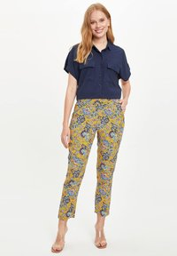 DeFacto - Trousers - yellow - 1