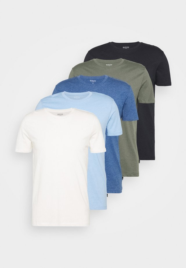 5 PACK - Basic T-shirt - multi