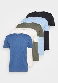 Burton Menswear London - 5 PACK - T-shirt - bas - multi - 7
