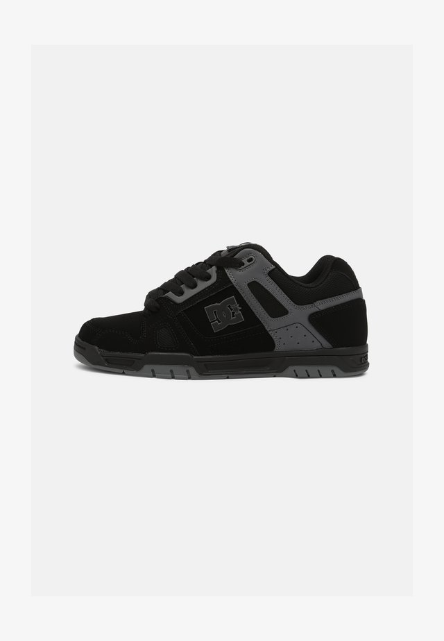 STAG - Sneakers - black/black /battleship