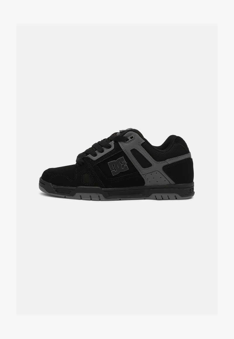 DC Shoes - STAG - Sneakers laag - black/black /battleship