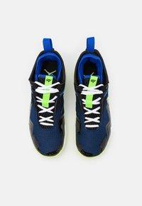 Jordan - WESTBROOK ONE TAKE - Basketball shoes - black/barely volt/hyper royal/blue void/white - 3