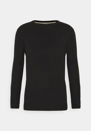 CREW - Strickpullover - black