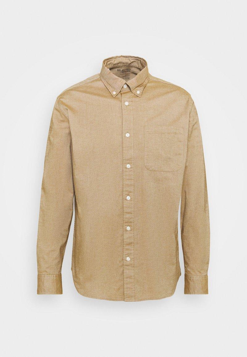 Selected Homme - SLHREGRICK FLEX - Camisa - teak