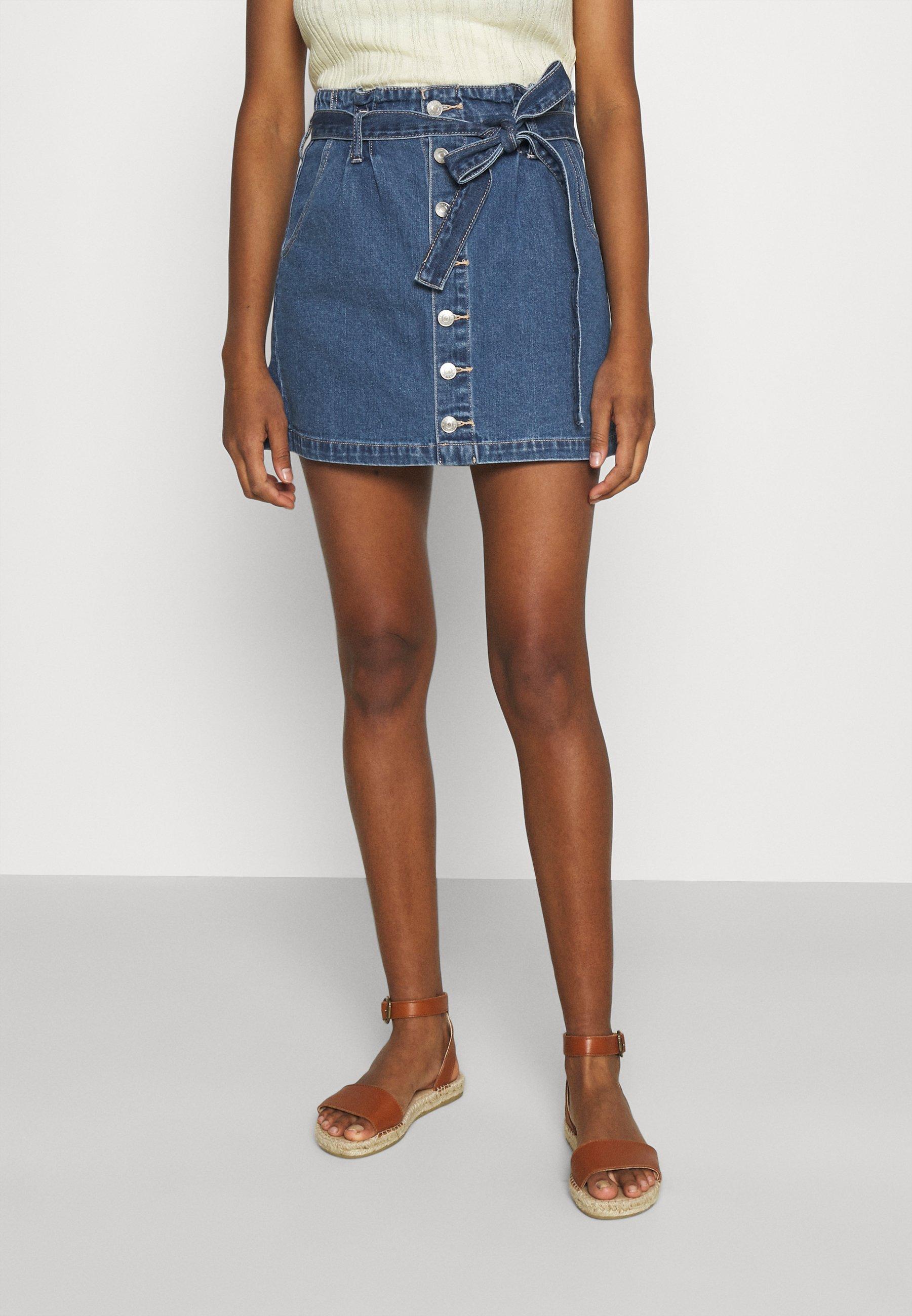 Women PAPERBAG ALINE SKIRT - Mini skirt