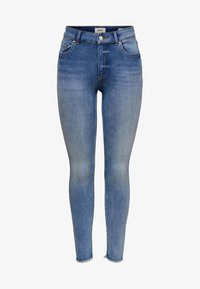 ONLY - ONLBLUSH MID ANKLE - Jeans Skinny Fit - light blue - 4