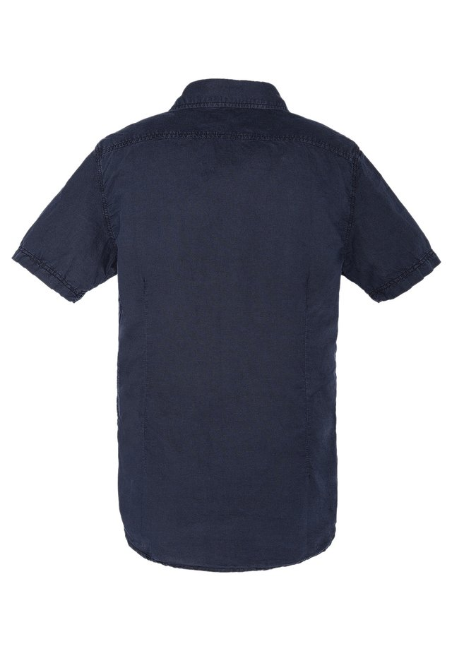 CHEMISETTE CASUAL - Shirt - bleu marine