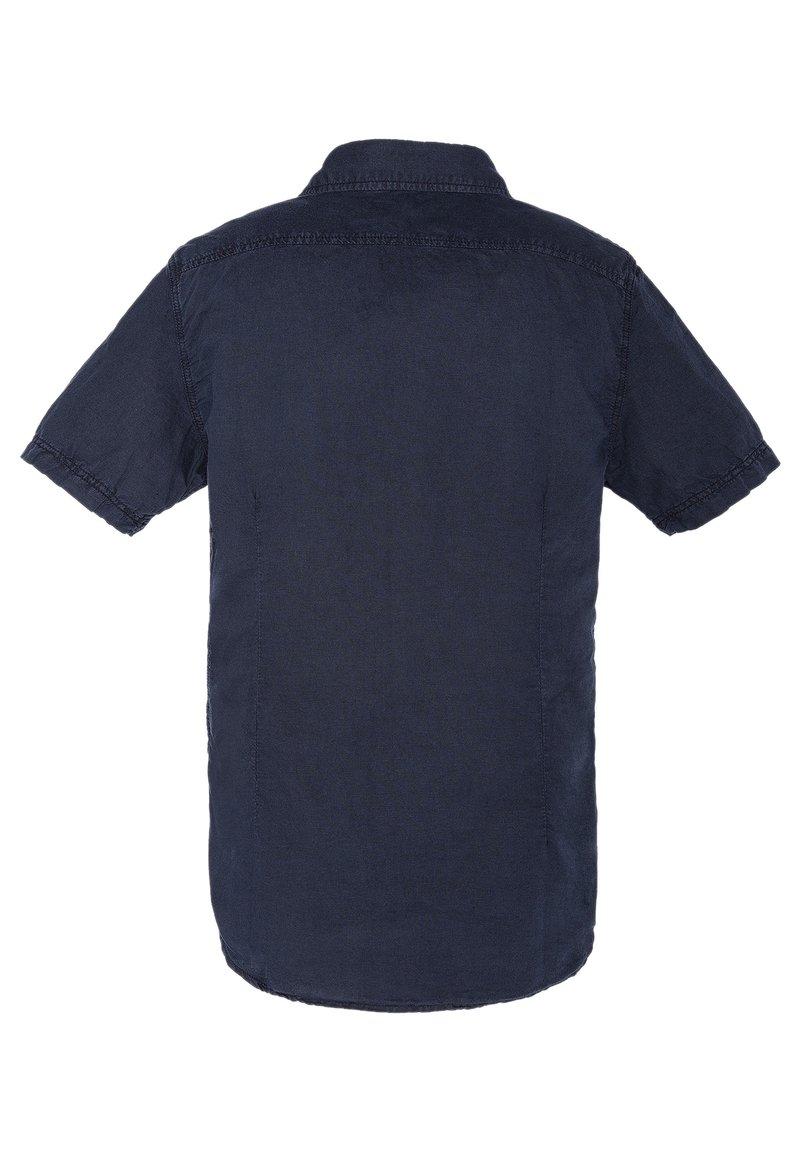 Schott - CHEMISETTE CASUAL - Shirt - bleu marine