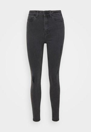 NMCALLIE BREAK - Jeans Skinny Fit - grey denim
