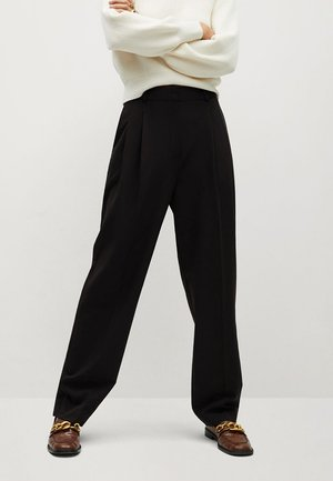 ISABEL - Trousers - black