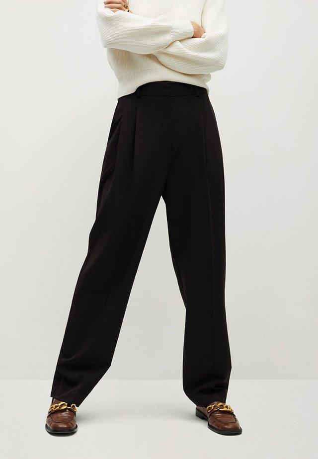 ISABEL - Pantalones - black
