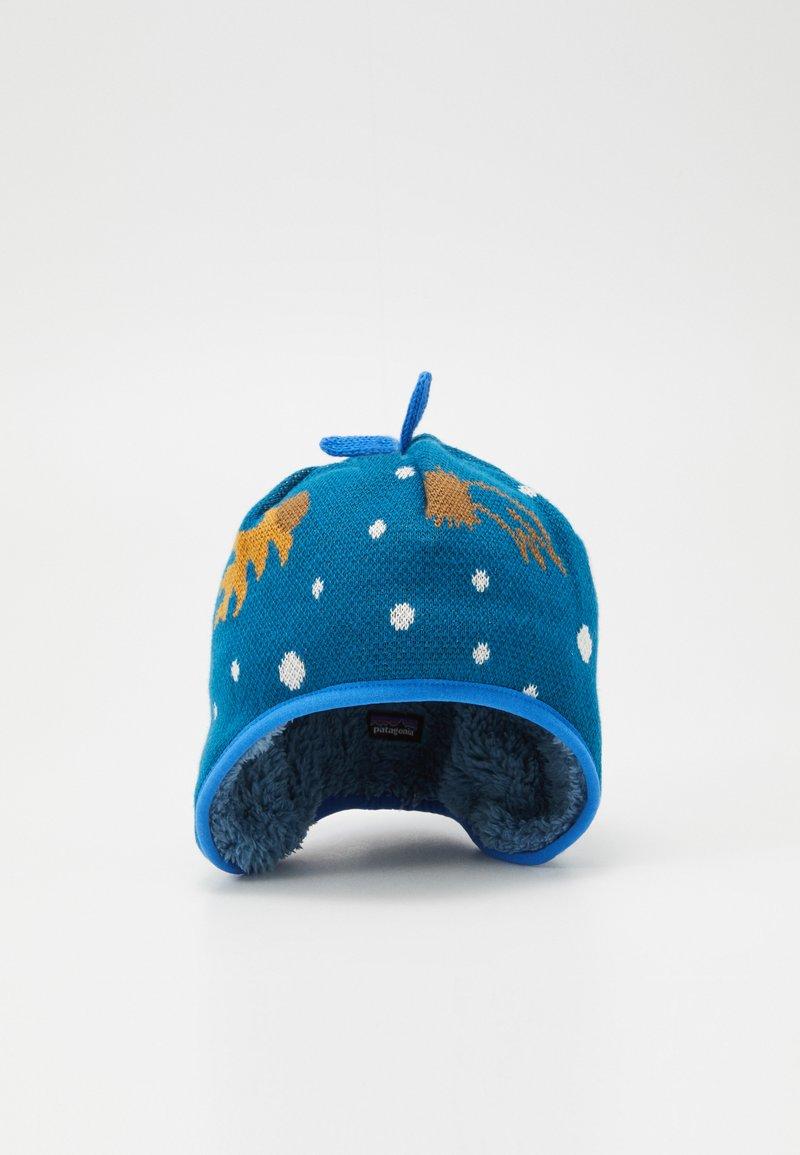 Patagonia - BABY REVERSIBLE BEANIE UNISEX - Bonnet - cosmic dreams/crater blue