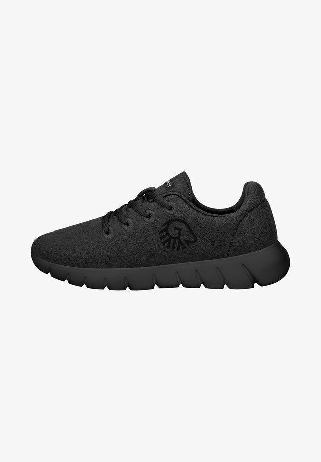 MERINO RUNNERS - Sneakers laag - black