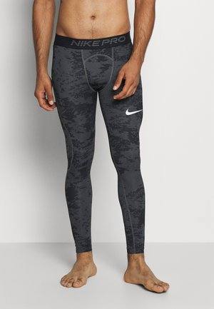 Leggings - iron grey/white