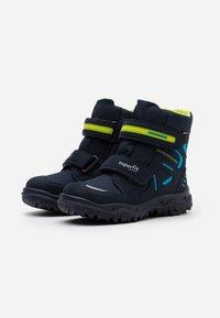 Superfit - HUSKY - Botas para la nieve - blau/grün - 1