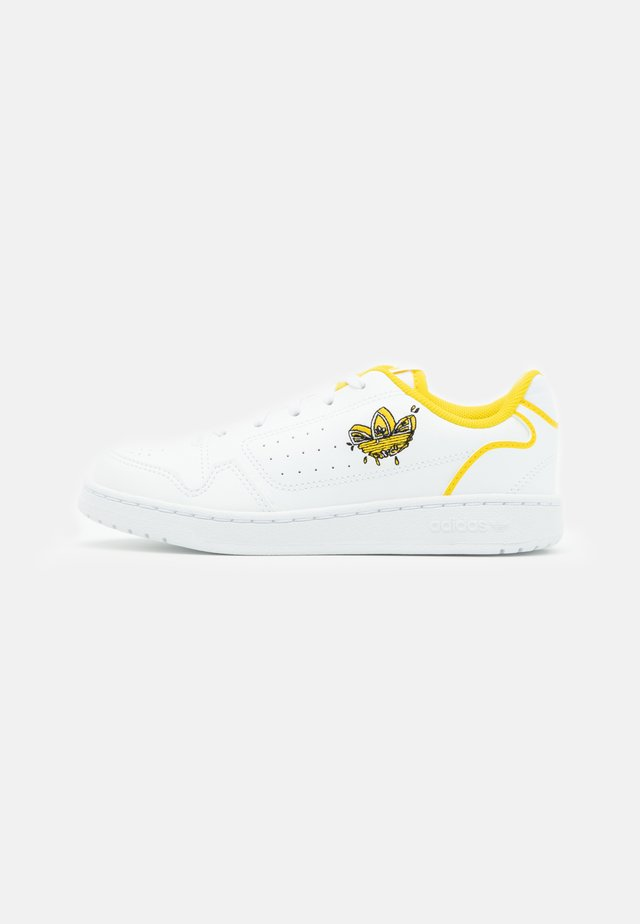 NY 90 UNISEX - Trainers - footwear white/yellow