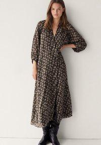 Massimo Dutti - Day dress - brown - 0
