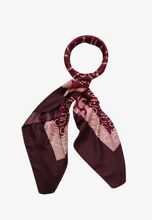 FOULARD PORTALOGO - Foulard - ruby wine