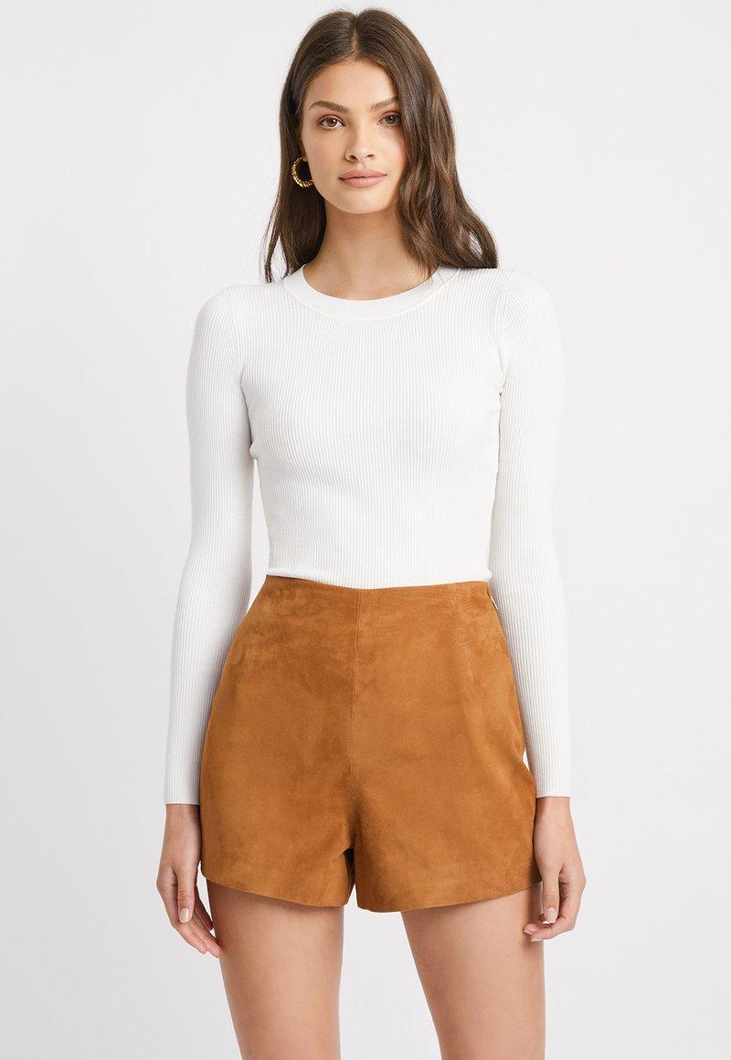 Kookai - Shorts - camel