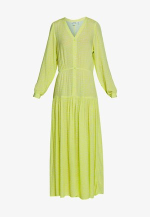 CARIE DRESS - Vestido largo - green light