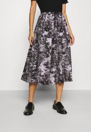FORESTIERE PLEAT SKIRT - A-line skirt - black