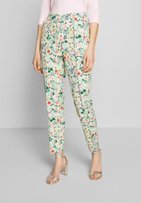 RIANI - Trousers - mint patterned - 0