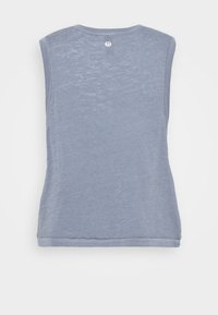 Cotton On Body - ALL THINGS FABULOUS CROPPED MUSCLE TANK - Top - blue jay wash - 5
