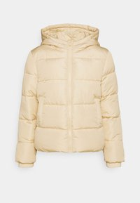 PCBEE NEW SHORT JACKET - Winter jacket - offwhite