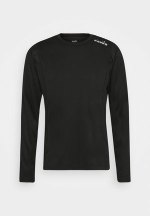 RUN - T-shirt à manches longues - black