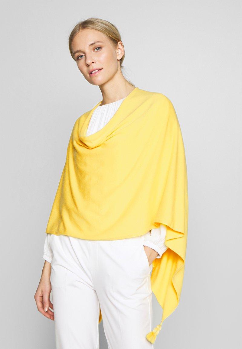 comma - PONCHO - Poncho - yellow
