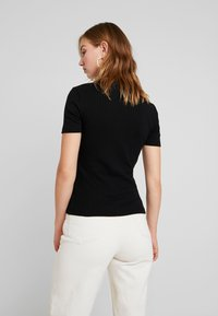 Even&Odd - BASIC - Print T-shirt - black - 2