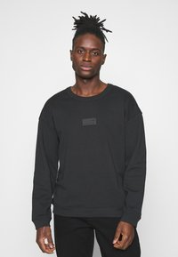 adidas Originals - SILICON CREW UNISEX - Sweatshirts - black - 0