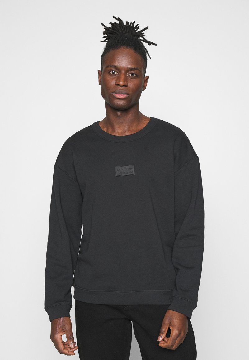 adidas Originals - SILICON CREW UNISEX - Sweatshirts - black