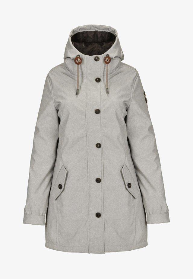 DIANORA - Waterproof jacket - off-white