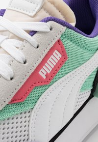 Puma - RIDER STREAM ON - Trainers - white/mist green/black - 2