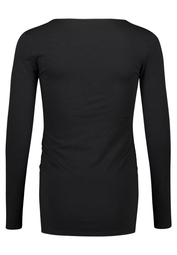 Noppies Bluzka z długim rękawem - black/czarny VBAW