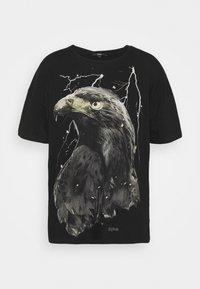 Tigha - SKY EAGLE ARNE - Print T-shirt - vintage black - 5