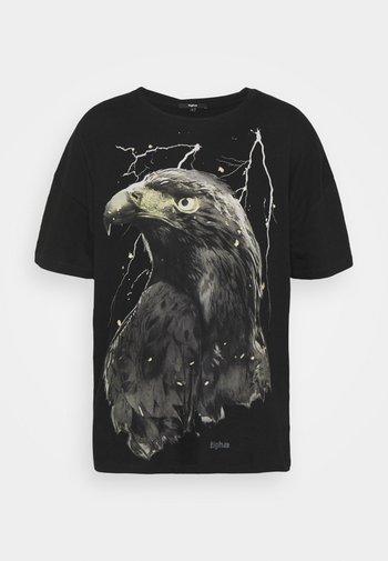 SKY EAGLE ARNE - Print T-shirt - vintage black