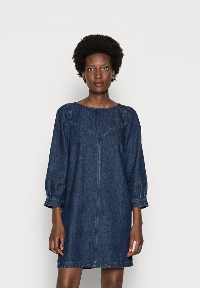 DENIA  - Denim dress - blue denim