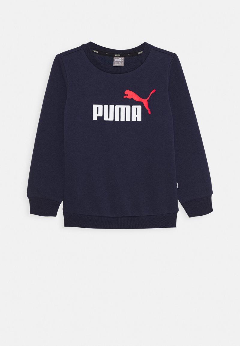 Puma - ESS CREW - Sweater - peacoat