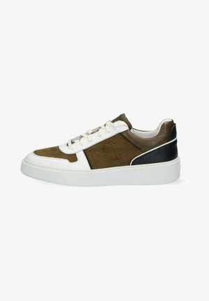 Sneakers laag - army/combi