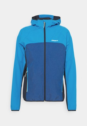 DONGOLA - Soft shell jacket - blue