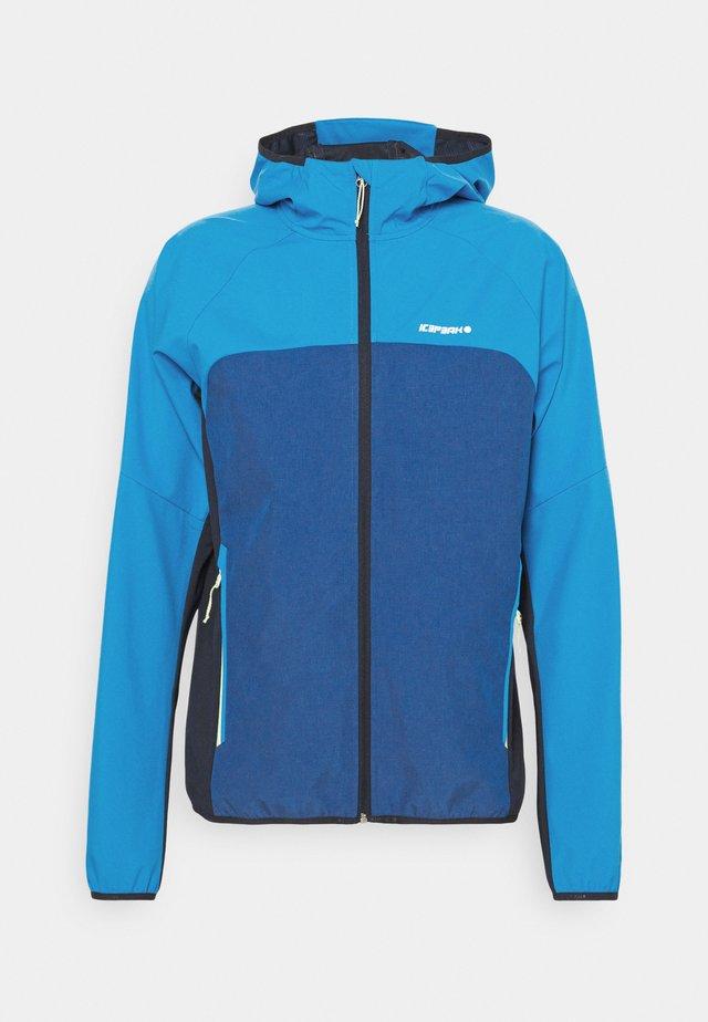 DONGOLA - Soft shell jacket - blue