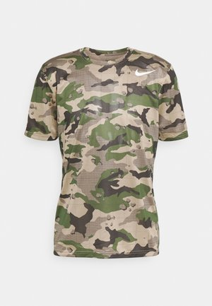 TEE CAMO - T-shirt med print - khaki