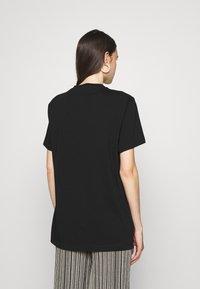 M Missoni - SHORT SLEEVE - Print T-shirt - black beauty - 2