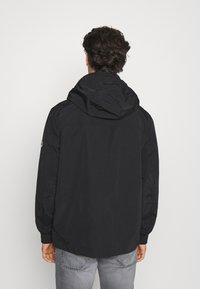 Tommy Jeans - ESSENTIAL HOODED JACKET - Summer jacket - black - 2