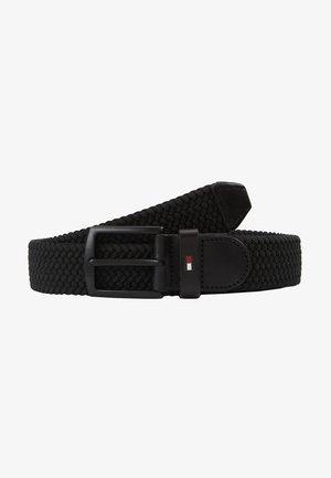 DENTON ELASTIC - Cinturón trenzado - black