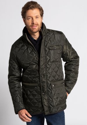 BIG & TALL - Light jacket - dark olive